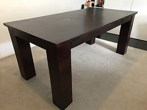 URGENT SALE - Solid Real Wood Table Paddington Eastern Suburbs Preview