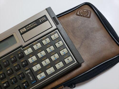 Open Box HP 71B Hewlett Packard Calculator NOS