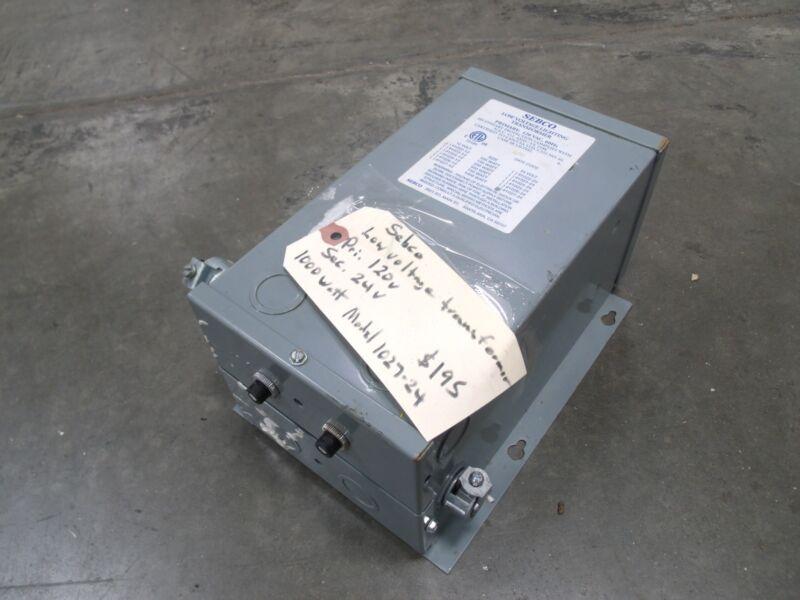 Sebco 120 VAC Low Voltage Transformer Model 1027-24