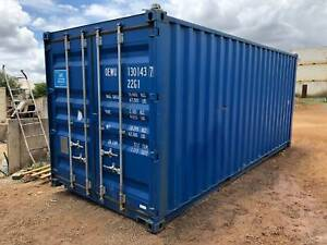 20 foot near new container - some holes, so you save!