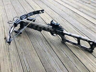 Horton Yukon SL Crossbow with red/green dot scope and quiver