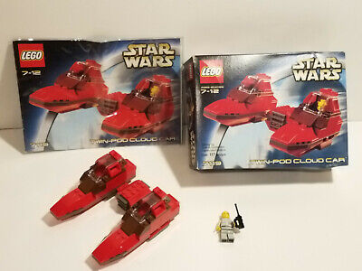 LEGO Star Wars 7119 Twin-Pod Cloud Car VGC 100% Complete w Box & Instructions