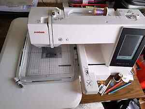 Janome embroidery machine 500E Dereel Golden Plains Preview
