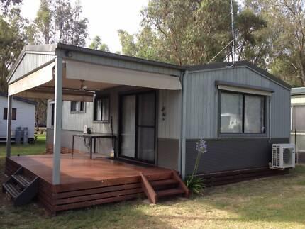Annual Site three bedroom Holiday Cabin Echuca