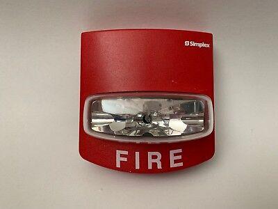 Simplex 4904-9332 Truealert Quickalert Fire Alarm Remote Strobe Smartsync