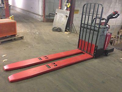 2007 Raymond Forklift 840 Ride On Jack 8000 96 Forks 24v W Battery Charger