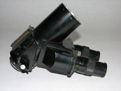 Leitz Ortholux Microscope Trinocular Head With 6x Oculars