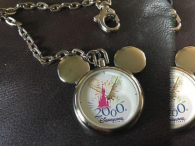 Dsneyland mickey mouse millennium pocket watch