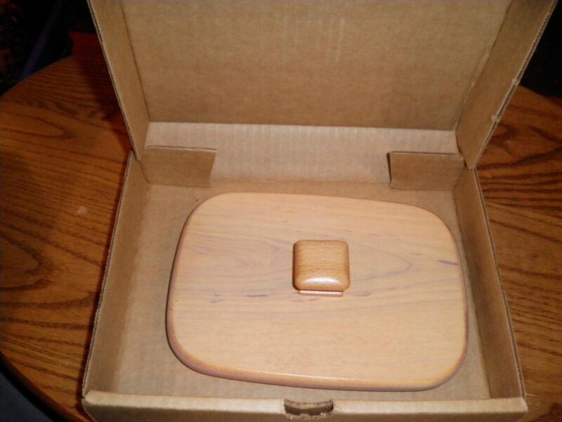 NEW Longaberger Lid- ALL AMERICAN PATRIOT LID  Wooden Woodcrafts Lid 50661