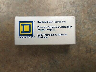 Nos Square D Overload Relay Thermal Unit B 8.20