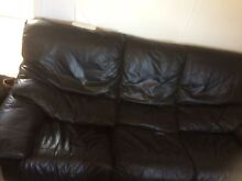 Black sofas 2 & 3 seater North Narrabeen Pittwater Area Preview
