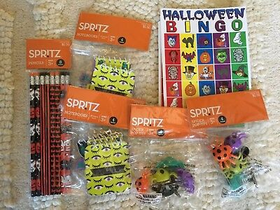 Halloween Toys For Party Or Goody Bags Set Of 8