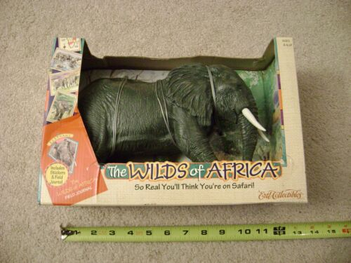 "The Wilds of Africa ""Elephant"" animal figure 1997 Ertl / New in box Rare!"