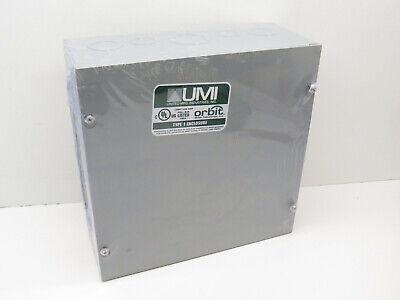 Umi Orbit 10 X 10 X 4 Nema Type 1 Electrical Pull Enclosure Junction Box