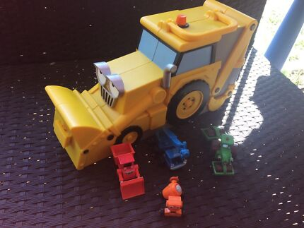 Bob the Builder cars & carry case