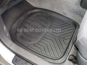citroen c4 grand picasso car floor mats deep dish rubber rm500 4 piece ebay. Black Bedroom Furniture Sets. Home Design Ideas