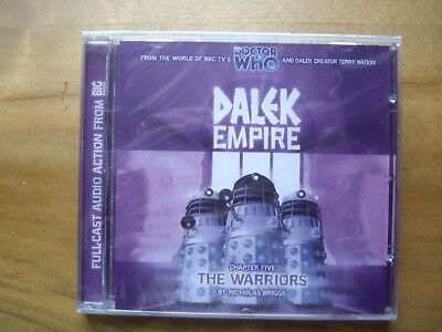 Doctor Who Dalek Empire 3.5, The Warriors, Big Finish audio book CD *SEALED*