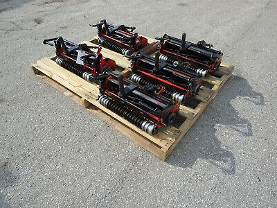 Set Of 5 Jacobsen Reels Fits 1880 Fairway Reel Mower Reels With Brackets 67932