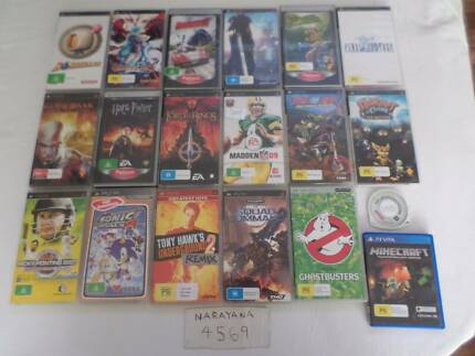 PSP and Vita Games