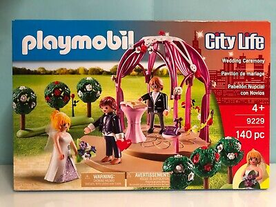 Playmobil City life ceremonia boda civil altar wedding vivan los novios 9229