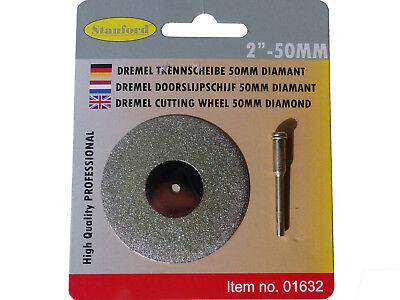 Diamant Trennscheibe Diamanttrennscheibe Mini 50mm für Dremel, Proxxon
