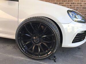 Vw/Audi 5x112 breyton GTS 19x8.5 wheels Ryde Ryde Area Preview