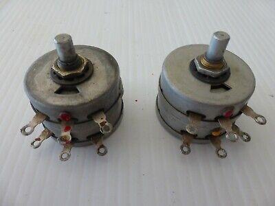 1 One Hickok Tube Testers English Adjustment 150150 Ohm Potentiometer