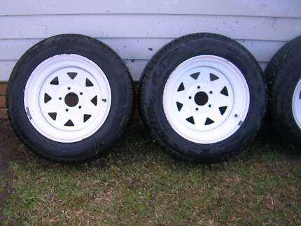 Sunraysia Wheels and Tyres x 4