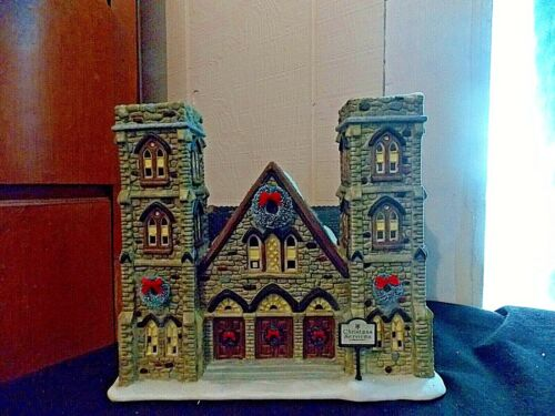 St Nicholas Square Christmas Village Building Cathedral of Peace