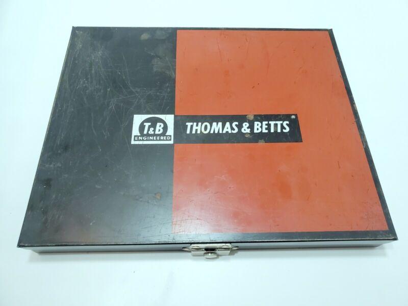Thomas & Betts Terminal Kit Cat Case Storage Organizer T&B Engineered Metal