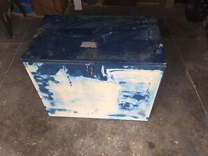 Wooden Tack Chest
