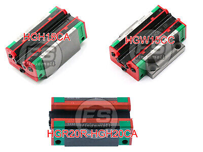 Hiwin Hgh20cahgh15cahgw15cchgr20r Slider For Linear Guideway Hghhgw
