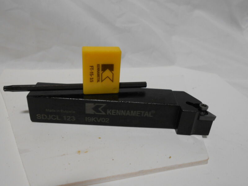 KENNAMETAL SDJCL123 HOLDER NEW IN BOX