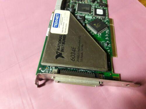 National Instruments 6034E NI DAQ 16 bit Analog Input Adapter Card
