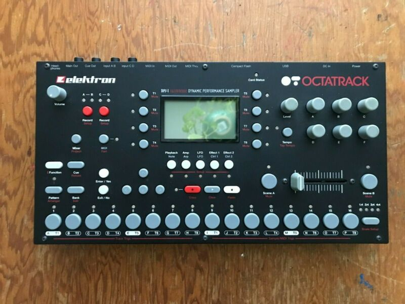 Elektron Octatrack MK1 DPS-1 digital sampler 4in/4out used good condition
