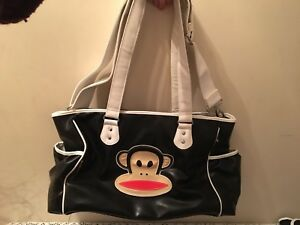Brand new Paul frank diaper bag with match change mat