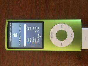 iPod Nano 8GB Green 4th Generation (Used)