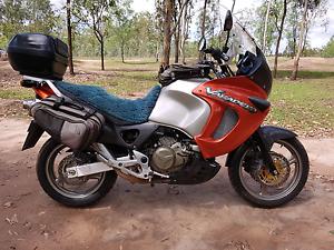 HONDA XL 1000 VARADERO ADVENTURE TOURER MOTORCYCLE V TWIN Willowbank Ipswich City Preview