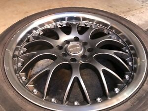 Mags with tires 215 45Z 17 plus free 4 Rims 15""