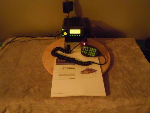 ICOM IC-208H dual band mobile with 55W/50W VHF/UHF Ham Radio Transceiver