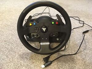 Thrustmaster racing wheel tmx and pedals