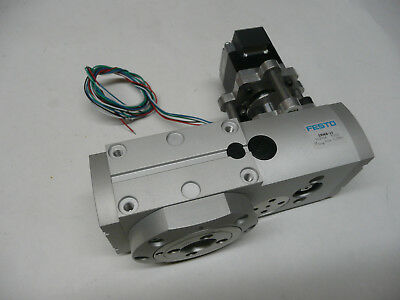 Festo Ermb-20 Rotary Positioner Module 552706 W Stepper Motor Encoder Perfect