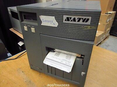 """SATO CL408E Parallel Thermo Label Drucker REWINDER 203dpi 4.1"""" 104mm - 30499.3 M"""