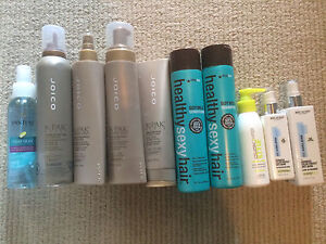 Mixed lot of hair products