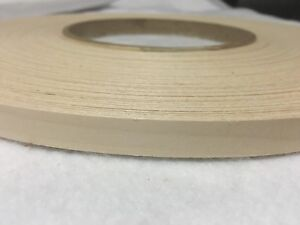 "Birch Pre Glued 1 1/4""x25' wood Veneer Edge Banding"