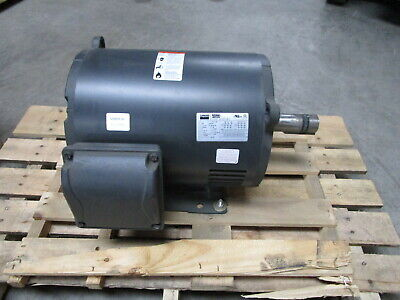 Dayton 15 Hp Electric Motor 3-phase - Model 4gzc4c - New In Crate