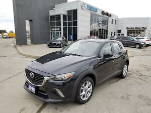 2016 Mazda CX-3 GS-AWD-MOONROOF-BLUETOOTH-CLEANCARFAX