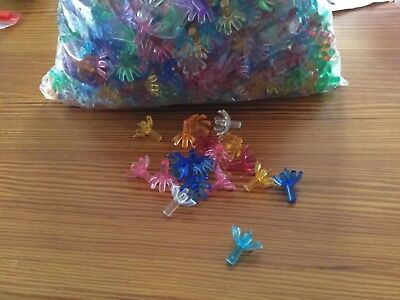 100 Replacement Flower Candle Lights Bulbs Peg Ceramic Christmas Tree
