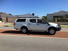 2013 Mitsubishi Triton - 4x4 with all the extra - Very low Km's Baldivis Rockingham Area Preview