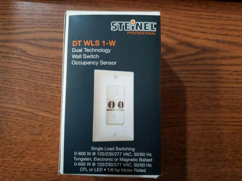 Steinel Dual Technology Wall Switch Occupancy Sensor DT WLS 1-W (6508660)